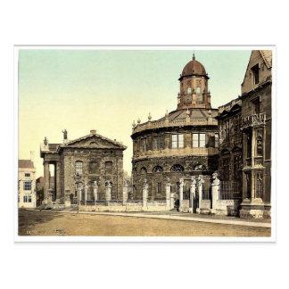 Sheldonian Theatre, Oxford, England rare Photochro Postcard
