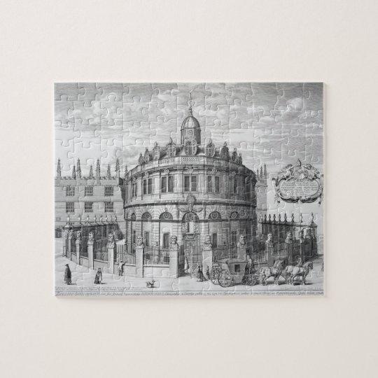 Sheldonian Theatre, Oxford, from 'Oxonia Illustrat Jigsaw Puzzle