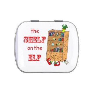 Shelf on the Elf Christmas Candy Tin