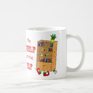 Shelf on the Elf Funny Holiday Mug