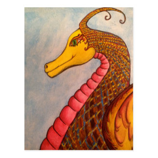 Shelia Art dragon.JPG Postcard