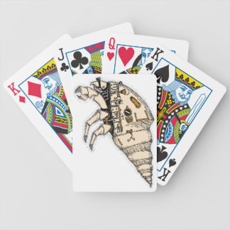 Shell Bicycle Playing Cards