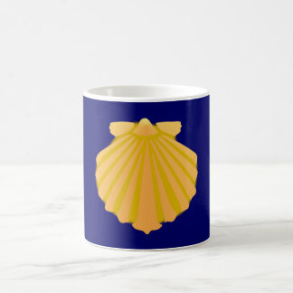Shell clam sea shell coffee mug