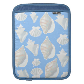 shell collection iPad sleeves