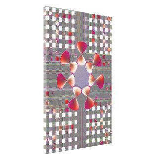 Shell Decor,Pinks Art Canvas