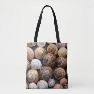 shell design tote bag