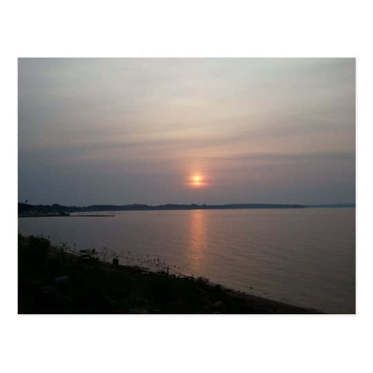 Shell Lake Wisconsin Postcard