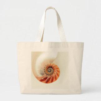 Shell Of Life Large Tote Bag