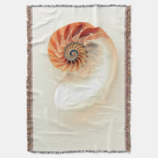 Shell Of Life Throw Blanket