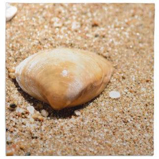 SHELL ON BEACH QUEENSLAND AUSTRALIA NAPKIN