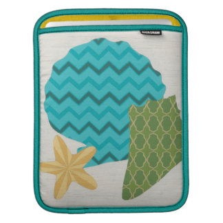 Shell Patterns II iPad Sleeves