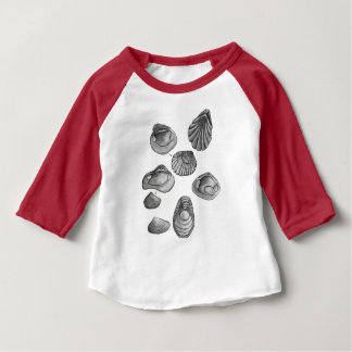 Shell sketch baby T-Shirt