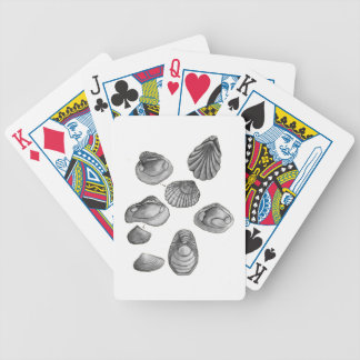 Shell sketch bicycle playing cards