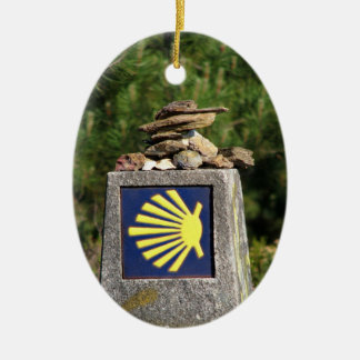 Shell Way Mark Ornament