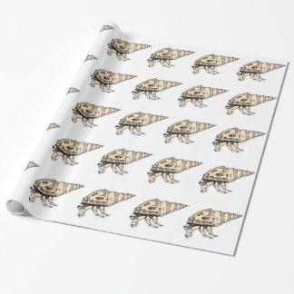 Shell Wrapping Paper