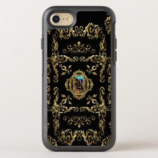 Shellbrooked Elegant Girly Damask Monogram OtterBox Symmetry iPhone 7 Case