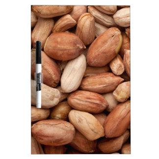 Shelled peanuts dry erase board