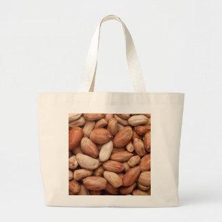 Shelled peanuts large tote bag