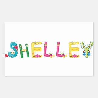 Shelley Sticker