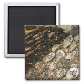 Shellfish Square Magnet