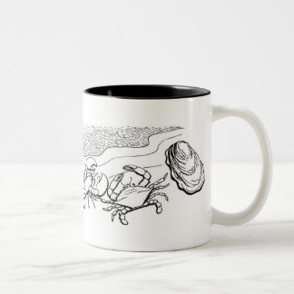 Shellfish Two-Tone Coffee Mug