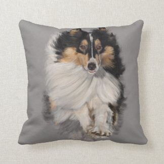 Shellie on the Move Throw Pillow