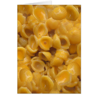 shells and cheese card