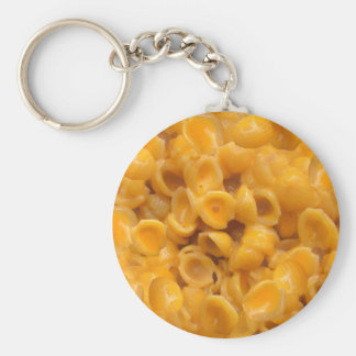 shells and cheese keychain