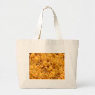 shells and cheese large tote bag
