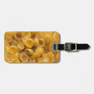 shells and cheese luggage tag