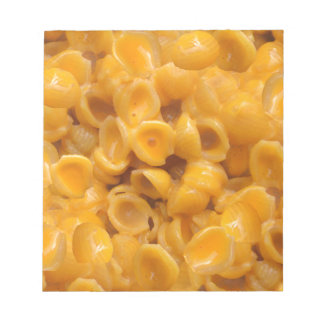 shells and cheese notepad