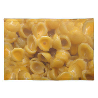shells and cheese placemat