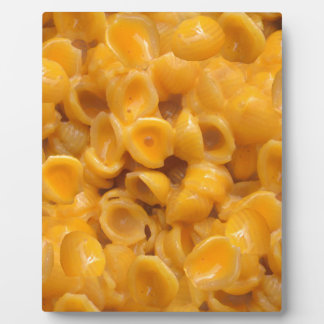 shells and cheese plaque