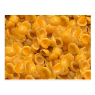 shells and cheese postcard