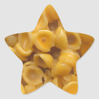 shells and cheese star sticker