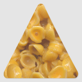 shells and cheese triangle sticker