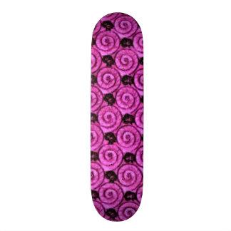 Shells and Flowers Pink Skate Board Decks