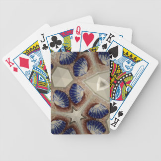 Shells and more bicycle playing cards