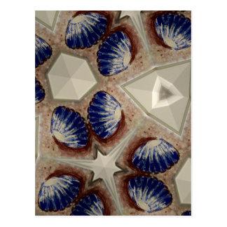 Shells and more postcard