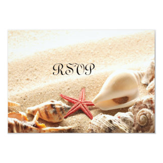 Shells and Starfish RSVP Card