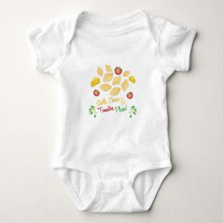 Shells Cheese Baby Bodysuit