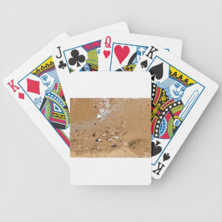 SHELLS ON BEACH QUEENSLAND AUSTRALIA BICYCLE PLAYING CARDS