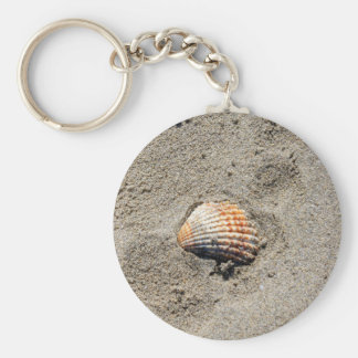 shells on the beach keychain