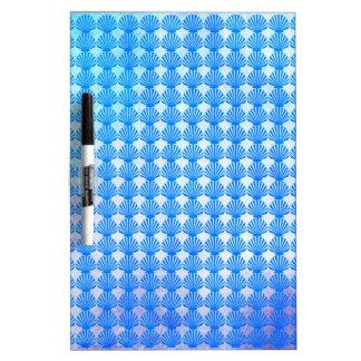 Shells Pattern Dry Erase Board