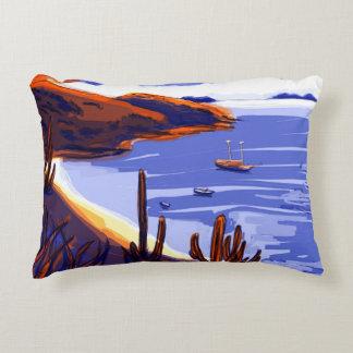 Shells - Rio De Janeiro - Brazil Accent Pillow