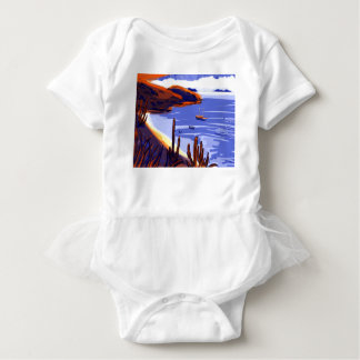 Shells - Rio De Janeiro - Brazil Baby Bodysuit