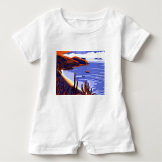 Shells - Rio De Janeiro - Brazil Baby Romper