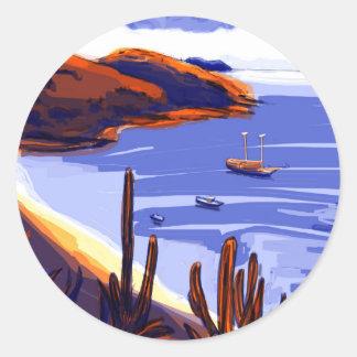 Shells - Rio De Janeiro - Brazil Classic Round Sticker