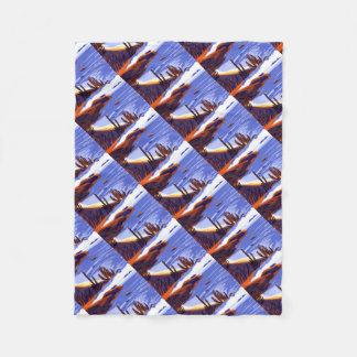 Shells - Rio De Janeiro - Brazil Fleece Blanket