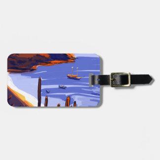 Shells - Rio De Janeiro - Brazil Luggage Tag